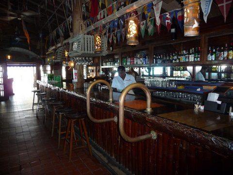 Main Bar at the Bitter End Resort