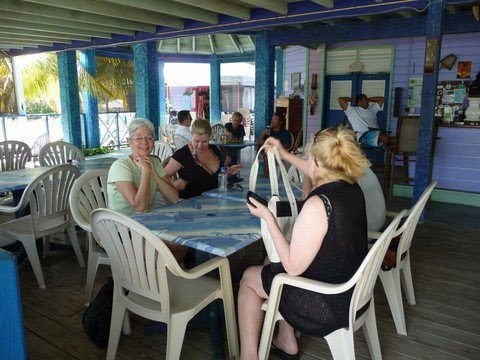 Lunch at Foxy's Taboo Jost Van dyke