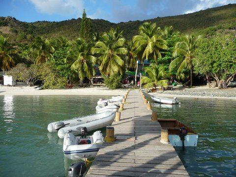 Foxys Dock, Great Harbor, Jost Van Dyke British Virgin Islands