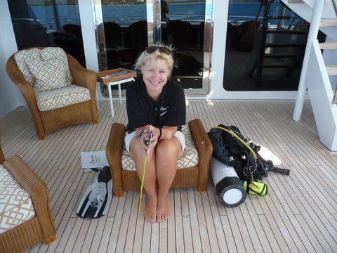 Gierdre Dive Instructor in BVI